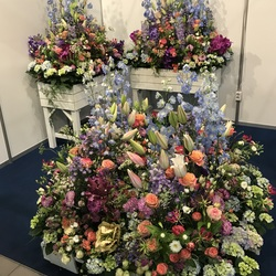 Flower mix for exhibition